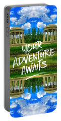 Your Adventure Awaits Temple Of Love Versailles Paris Portable Battery Charger