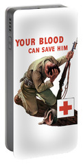 Your Blood Can Save Him - Ww2 Portable Battery Charger