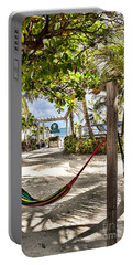 Portable Battery Charger featuring the photograph Your Hammock Awaits You by Lawrence Burry