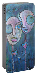 Your Haunted Heart And Me Portable Battery Charger
