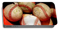 Youth Baseball 6 Portable Battery Charger by David Gilbert