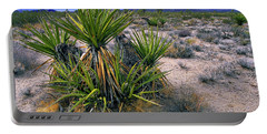 Yucca And Cinder Cones Portable Battery Charger