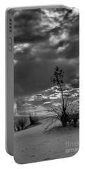 Yucca At Sunset Portable Battery Charger