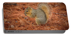 Yum Yum Nuts Wildlife Photography By Kaylyn Franks     Portable Battery Charger