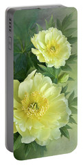 Yumi Itoh Peony Portable Battery Charger