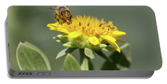 Yumm Pollen Portable Battery Charger by Christopher L Thomley