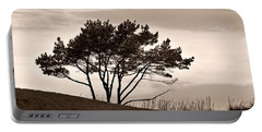Portable Battery Charger featuring the photograph Yyteri Evening by Jouko Lehto