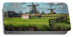 Zaanse Schans And Farm Portable Battery Charger