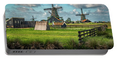 Zaanse Schans And Farm Portable Battery Charger