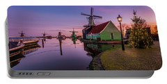 Zaanse Schans Holiday  Portable Battery Charger
