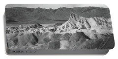 Zabriskie Point Landscape Portable Battery Charger by Marius Sipa