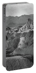 Zabriskie Point Portrait Portable Battery Charger by Marius Sipa