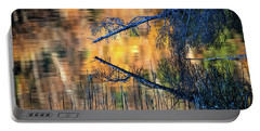Portable Battery Charger featuring the photograph Zaffre Autumn by Doug Gibbons