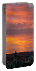 Zagreb Sunset 5 Portable Battery Charger