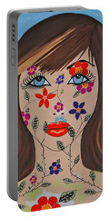 Zahir - Contemporary Woman Art Portable Battery Charger