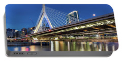 Zakim Bridge And Charles River Portable Battery Charger