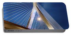 Zakim Bridge Upclose Portable Battery Charger