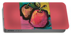 Zany Apples Portable Battery Charger by Terri Einer