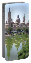 Zaragoza Cathedral 1 Portable Battery Charger