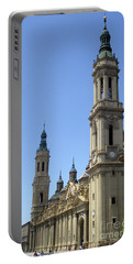 Zaragoza Cathedral 10 Portable Battery Charger