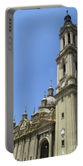 Zaragoza Cathedral 12 Portable Battery Charger