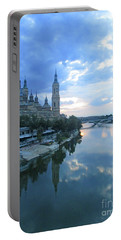 Zaragoza Cathedral 19 Portable Battery Charger