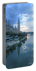 Zaragoza Cathedral 20 Portable Battery Charger