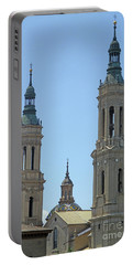 Zaragoza Cathedral 5 Portable Battery Charger
