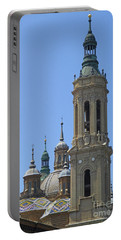 Zaragoza Cathedral 7 Portable Battery Charger