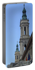 Zaragoza Cathedral 8 Portable Battery Charger