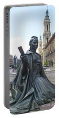 Zaragoza Sculpture 4 Portable Battery Charger