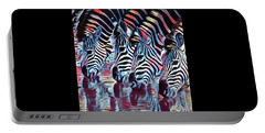 Zebra Dazzle Portable Battery Charger