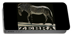 Zebra Design By John Foster Dyess Portable Battery Charger