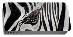 Zebra Eye Portable Battery Charger