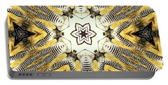 Zebra I Portable Battery Charger by Maria Watt