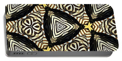 Zebra Iv Portable Battery Charger by Maria Watt