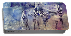 Zebra Paradise Portable Battery Charger
