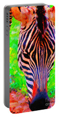 Zebra . Photoart Portable Battery Charger