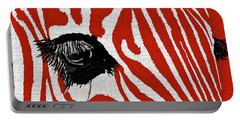 Zebra Red Portable Battery Charger