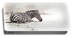 Zebra Sketch Portable Battery Charger