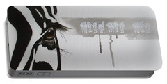 Zebra Tears Portable Battery Charger
