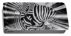 Zebra Time Portable Battery Charger