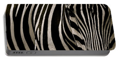 Zebra Up Close Portable Battery Charger