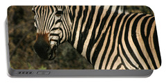Zebra Watching Sq Portable Battery Charger
