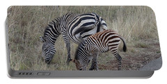 Zebras In Kenya 1 Portable Battery Charger