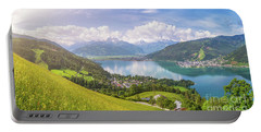 Zell Am See - Alpine Beauty Portable Battery Charger by JR Photography