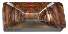 Sycamore Park Covered Bridge Portable Battery Charger