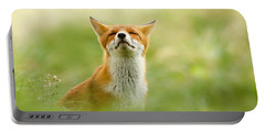 Zen Fox Series - Zen Fox Does It Agian Portable Battery Charger by Roeselien Raimond