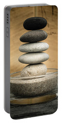 Zen Stones I Portable Battery Charger by Marco Oliveira