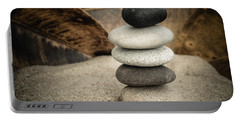 Zen Stones IIi Portable Battery Charger by Marco Oliveira